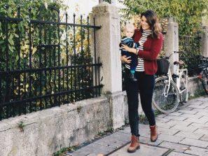 Baby und Mama in München