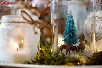 Weihnachtsdeko Für 1 Euro.Diy Adventskranz Und Weihnachtsdeko Aus Hipp Gläsern Mamiplatz