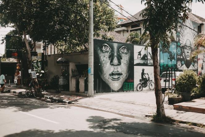 Streetart Bali